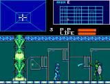 Cyborg Hunter SEGA Master System Area E chief cyborg