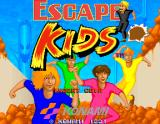 Escape Kids Arcade Title Screen