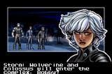 X-Men: The Official Game Game Boy Advance Storm