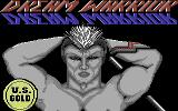 Dream Warrior Commodore 64 Title screen