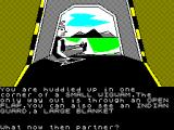The Legend of Apache Gold ZX Spectrum You've been captured