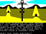 The Legend of Apache Gold ZX Spectrum The Apache settlement
