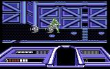 Dream Warrior Commodore 64 Those circular tiles on the floor temporarily allow you to pass the force field