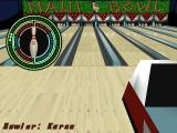 Ten Pin Alley Windows Operating on bowling meter