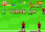 The Ultimate 11: SNK Football Championship Arcade Throw in