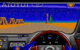 Toyota Celica GT Rally Atari ST It's a bit dusty in Mexico