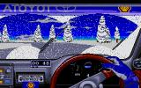 Toyota Celica GT Rally Atari ST Some snowy conditions