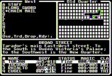 Dark Designs IV: Passage to Oblivion Apple II Character inventory