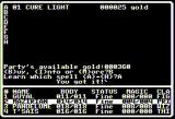 Dark Designs V: Search for Salvation Apple II Learning a spell