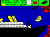 Mermaid Madness ZX Spectrum Found a ship wreck
