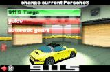 Need for Speed: Porsche Unleashed Game Boy Advance Change your Porsche?