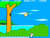 Safari Hunt SEGA Master System You wouldn't shoot an innocent bunny, would you?