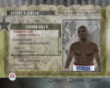 Fight Night Round 2 PlayStation 2 In Career Mode the player can choose to train their own boxer or resurrect the career of a legendary boxer.
