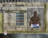 Fight Night Round 2 PlayStation 2 In Career Mode the player selects either their own boxer or a boxing legend and then assigns skill points to customise them