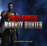 Mace Griffin: Bounty Hunter PlayStation 2 The game's title screen