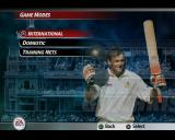 Cricket 2005 PlayStation 2 There are  three game modes each of which leads to a further sub menu, for example there are five kinds of International match