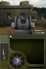 Call of Duty: World at War Nintendo DS Aiming down the scope.