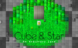 Cube & Star: An Arbitrary Love Windows Title screen