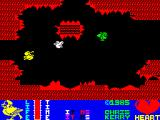 Metabolis ZX Spectrum Flying through a cavern