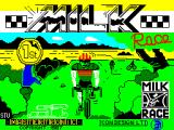 Milk Race ZX Spectrum Loading Screen