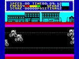 Milk Race ZX Spectrum Racing action