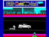 Milk Race ZX Spectrum You crashed