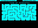 Tomb of Akhenaten  ZX Spectrum Food and a nasty on screen