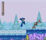 Mega Man 7 SNES Scaring the robot won't help