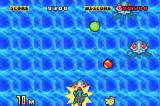 Fruits Daisakusen! Game Boy Advance Stung by a Tentacruel.