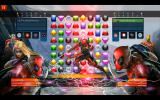 Marvel Puzzle Quest Windows A powerful attack by Deadpool