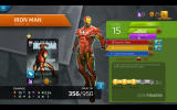 Marvel Puzzle Quest Windows Profile screen for my Iron Man character