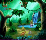 Disney's Timon & Pumbaa's Jungle Games SNES Sling Shooter