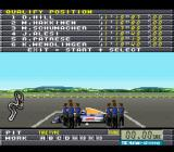 F1 Pole Position 2 SNES Qualifying