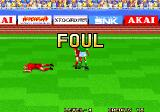The Ultimate 11: SNK Football Championship Arcade Foul