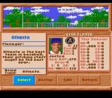 HardBall III SNES Select your star player