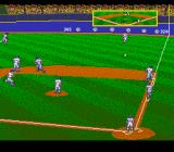 HardBall III SNES Low hit to the right