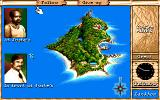 Maupiti Island DOS You can follow any character all over the island