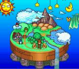 Hebereke's Popoon SNES Map of the land