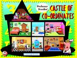 Multimedia Algebra Windows 3.x The Castle of Co-Ordinates is a series of rooms with multiple hotspots and short, fun animations