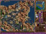 Heroes of Might and Magic III: The Shadow of Death Windows A shot of the game in action- notice the new terrain..