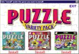 Puzzle Variety Pack Windows The installation process installs the three games separately