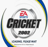Cricket 2002 PlayStation 2 The game's title screen