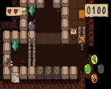 Ittle Dew Linux Master Caves puzzle 1