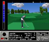 Jack Nicklaus' Unlimited Golf & Course Design SNES On the tee