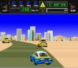 Jaleco Rally: Big Run - The Supreme 4WD Challenge SNES Vehicles on the verges