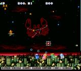 Jikkyō Oshaberi Parodius SNES Blast the cute enemy