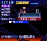 Jikkyō Power Pro Wrestling '96: Max Voltage SNES Set Up