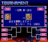 Jikkyou Power Pro Wrestling '96: Max Voltage SNES Next fight