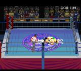 Jikkyō Power Pro Wrestling '96: Max Voltage SNES On the canvas