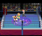 Jikkyou Power Pro Wrestling '96: Max Voltage SNES Attempted punch